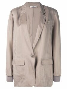 Tibi soft tailored blazer - Brown