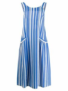 Chinti & Parker striped dress - Blue