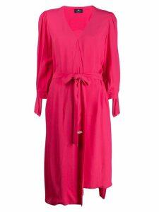 Elisabetta Franchi tie-waist dress - Pink