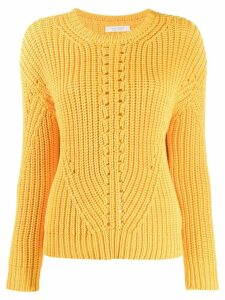 Chinti & Parker ribbed knit sweater - Yellow