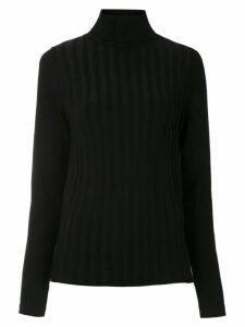 Gloria Coelho knit blouse - Black