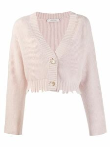Dorothee Schumacher cropped cardigan - Pink