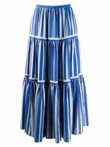 Chinti & Parker French striped skirt - Blue