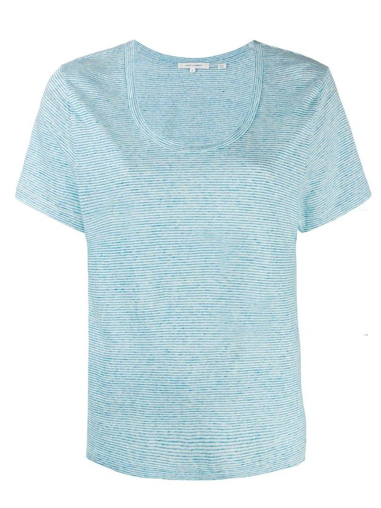 Chinti & Parker striped T-shirt - Blue