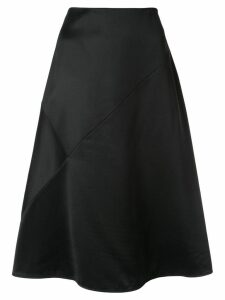 Nina Ricci plain A-line skirt - Black