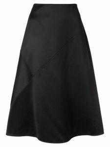Nina Ricci plain A-line skirt - Black