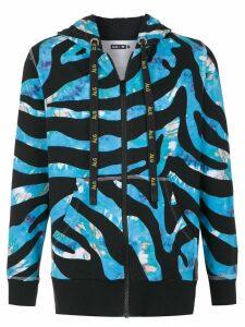 Àlg ÀLG x Hering zipped hoodie - Blue