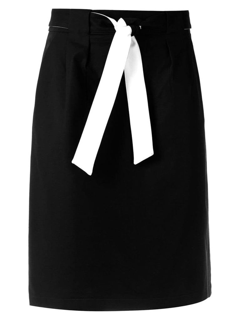 Egrey straight fit skirt - Black