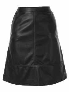 Nina Ricci leather skirt - Black