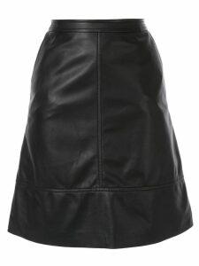 Nina Ricci leather skirt - Black