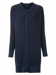 Magrella long knitted cardigan - Blue