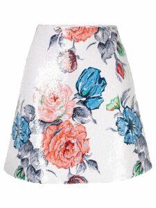 Nina Ricci floral print skirt - Multicolour