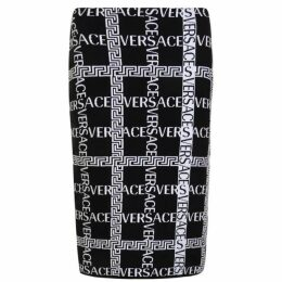 VERSACE Cross Logo Skirt