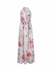 Womens **Showcase Multi Colour 'Lula' Print Maxi Dress- Multi Colour, Multi Colour