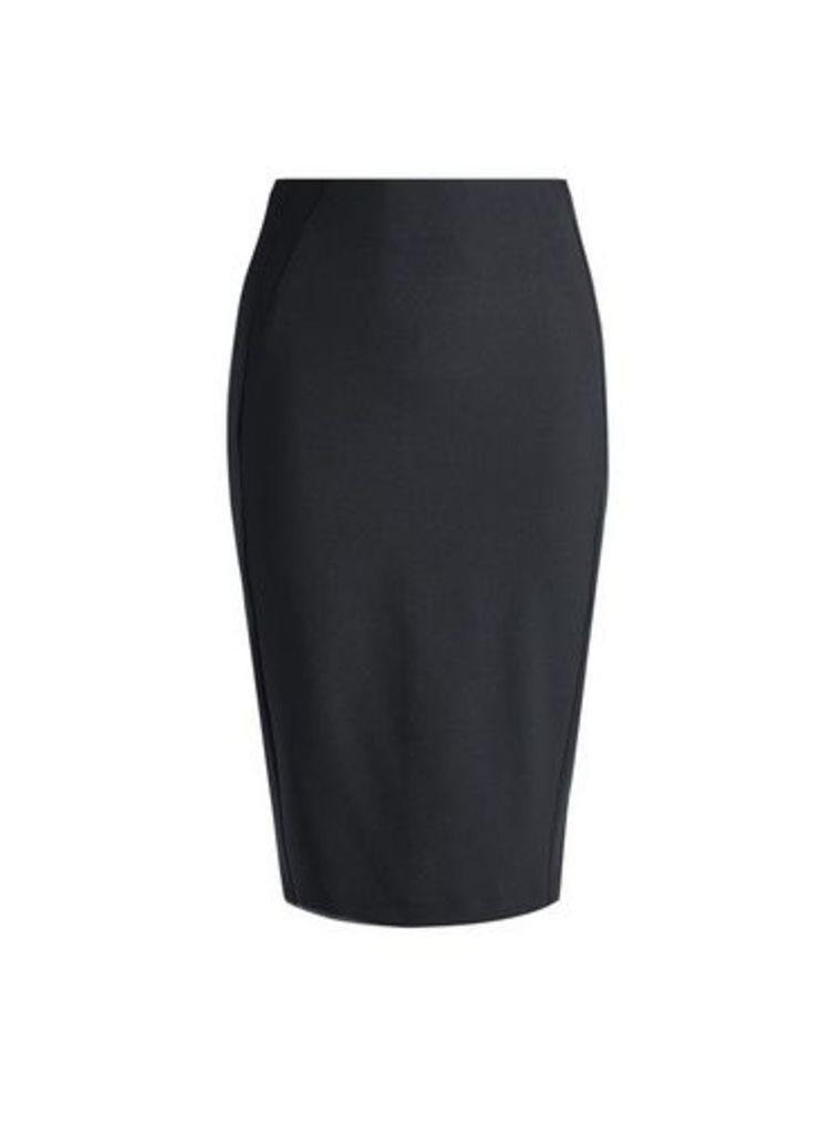 Womens Black Pencil Skirt, Black