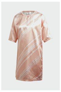Womens adidas Originals Pink Trefoil Dress -  Pink