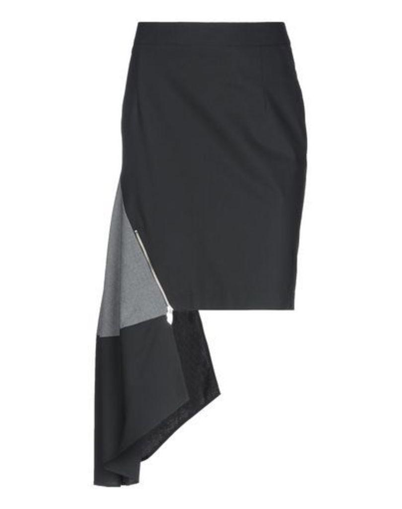 OBLIQUE CREATIONS SKIRTS Knee length skirts Women on YOOX.COM