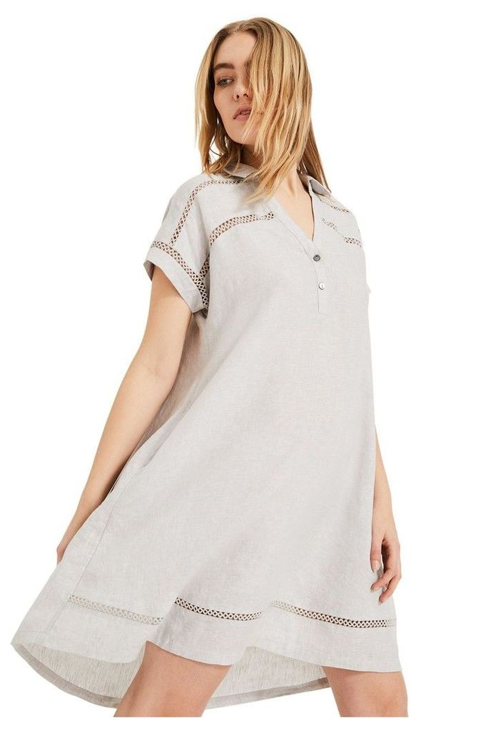 Womens Phase Eight Grey Arla Swing Dress -  Grey