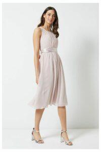 Womens Dorothy Perkins Midi Dress -  Pink