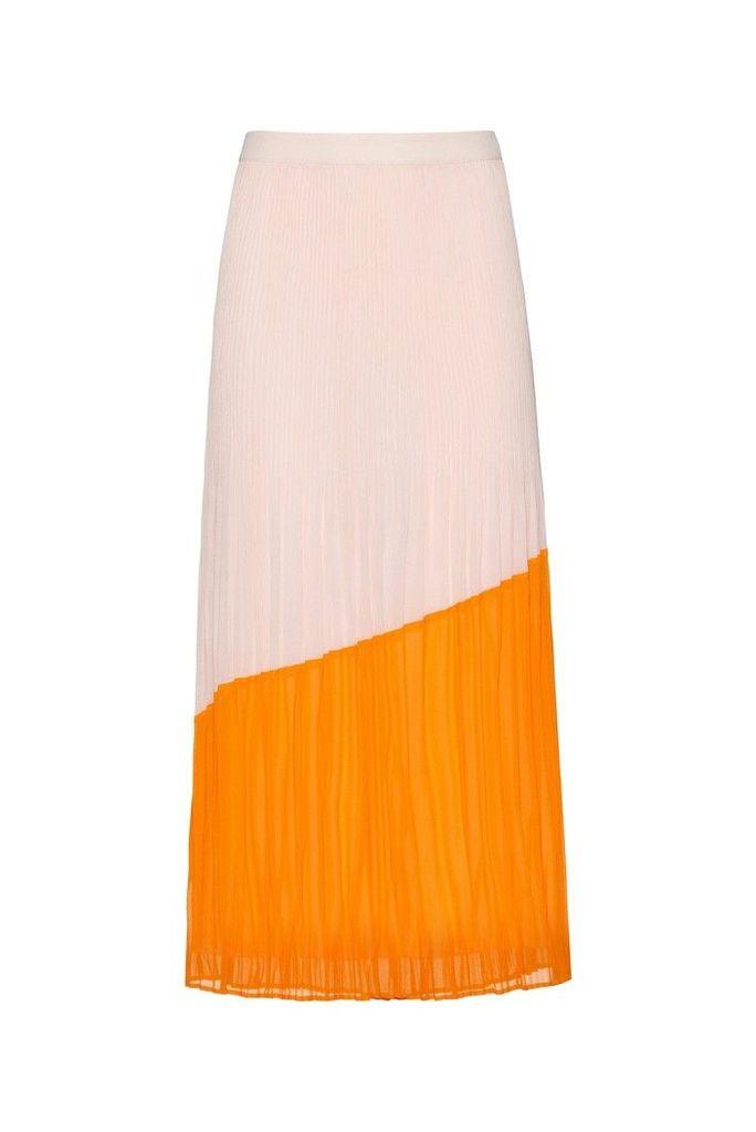 Womens HUGO Relissy Skirt -  Orange