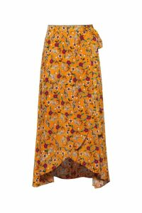 Womens HUGO Reilina Skirt -  Yellow