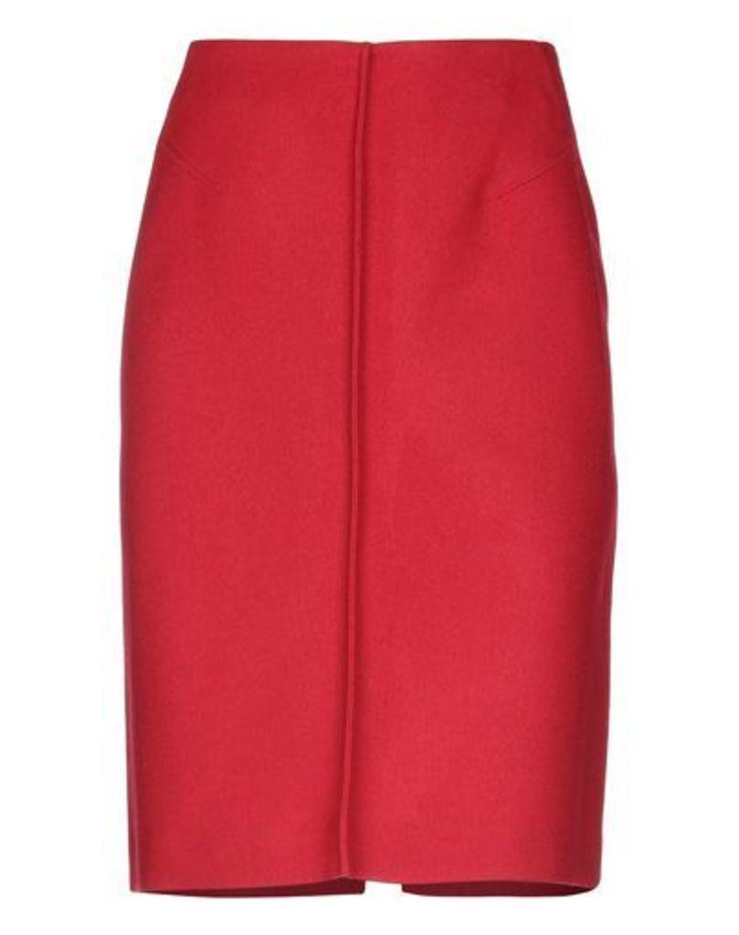 JIL SANDER SKIRTS Knee length skirts Women on YOOX.COM