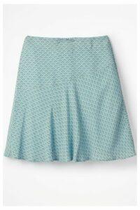 Womens Boden Blue Virginia Skirt -  Blue
