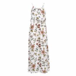 Only  ONLWINNER  women's Long Dress in Beige