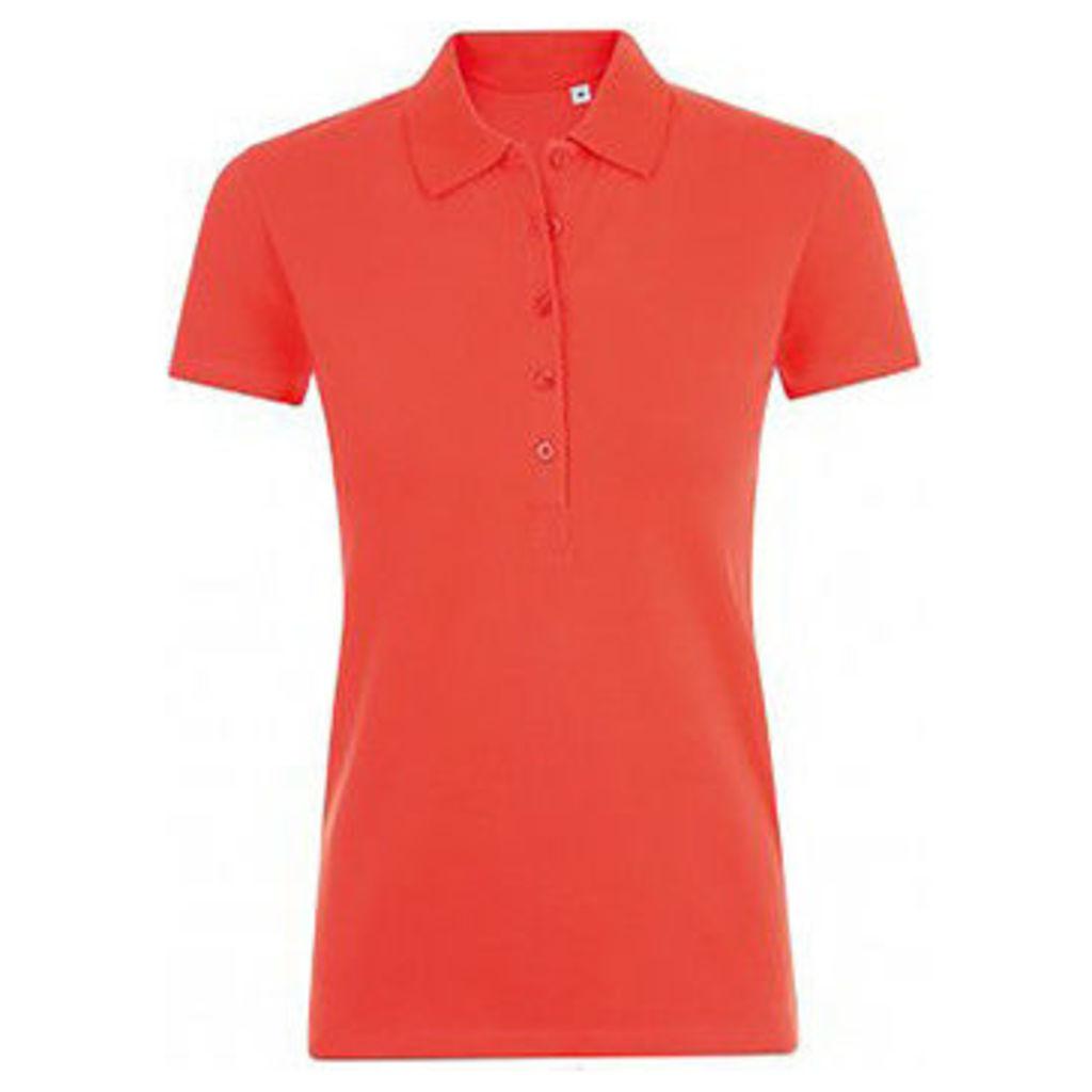 Sols  WomensLadies Phoenix Short Sleeve Pique Polo Shirt  women's Polo shirt in Multicolour