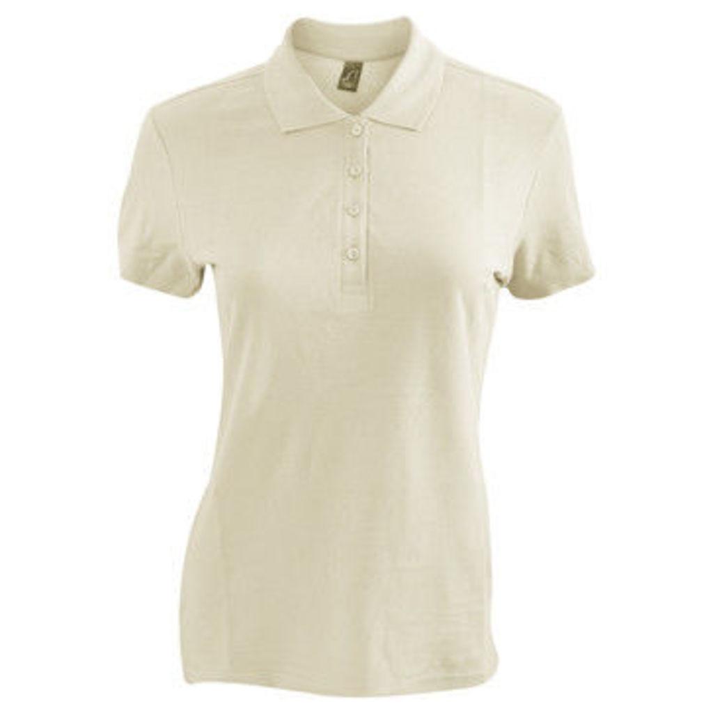 Sols  WomensLadies Passion Pique Short Sleeve Polo Shirt  women's Polo shirt in Multicolour