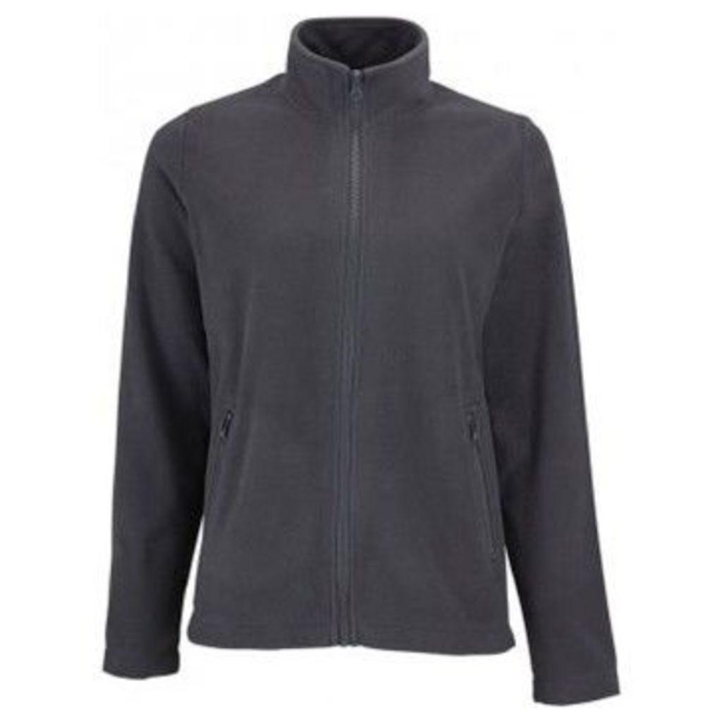 Sols  WomensLadies Norman Fleece Jacket  women's Sweatshirt in Grey