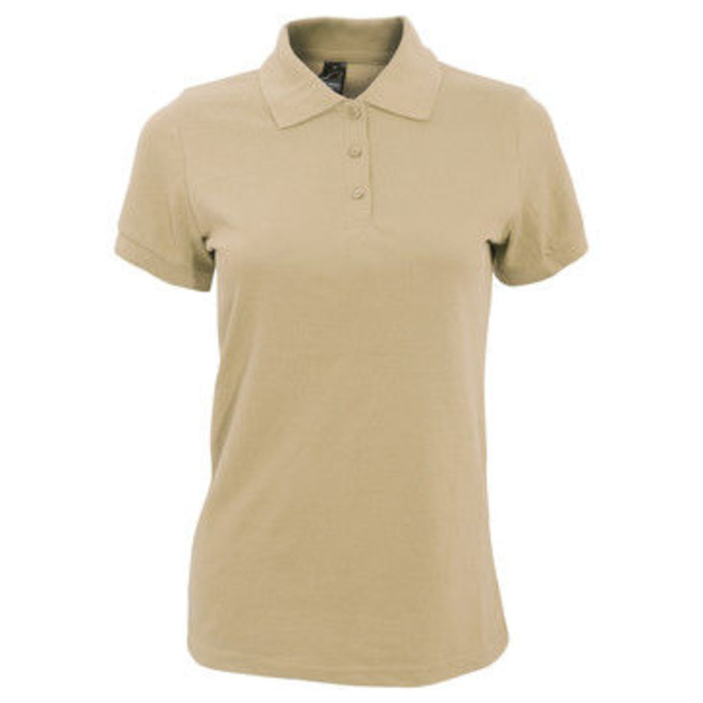 Sols  WomensLadies Prime Pique Polo Shirt  women's Polo shirt in Multicolour
