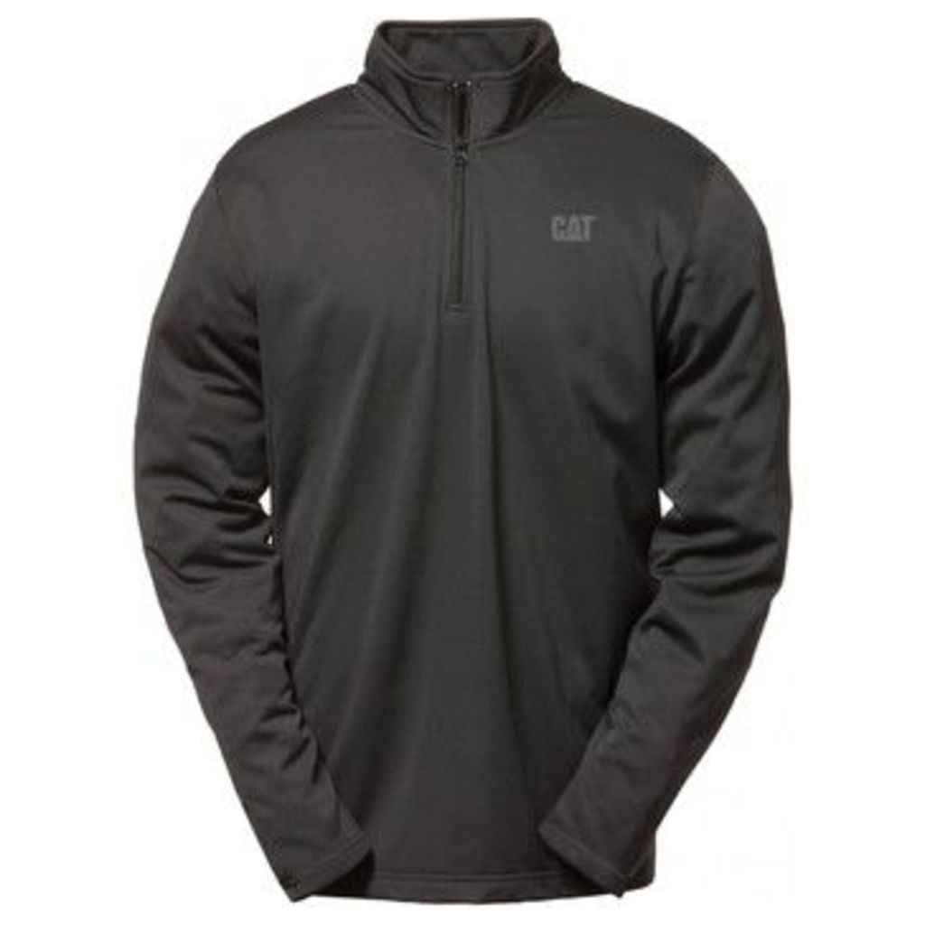Caterpillar  C1499009 FLEX LAYER QUARTER ZIP  Mens Sweatshirts  women's Sweatshirt in Black