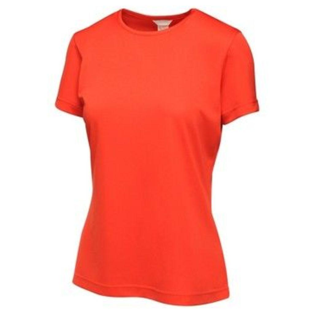Regatta  Activewear Ladies Torino T-Shirt  women's T shirt in Red