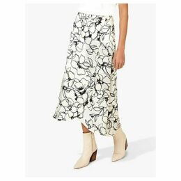 Finery Floral Sketch Print Skirt, Multi