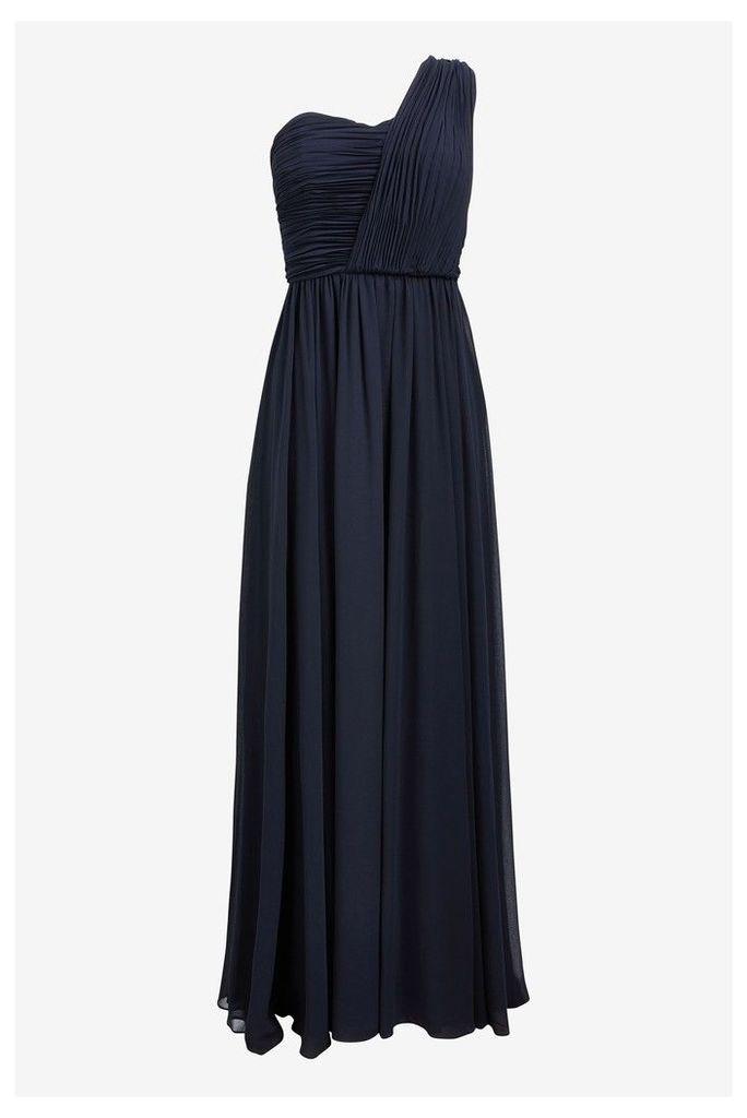 Womens Ted Baker Navy Shoulder Maxi Dress -  Blue