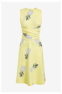 Womens Hobbs Yellow Twitchill Dress -  Yellow