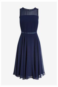 Womens Hobbs Blue Abigale Dress -  Blue