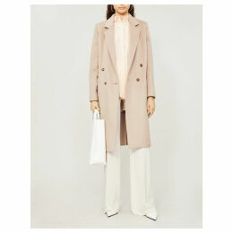 Andrea double-breasted cashmere coat