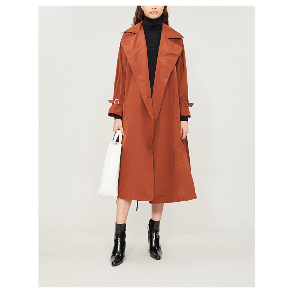 Uva oversized shell coat
