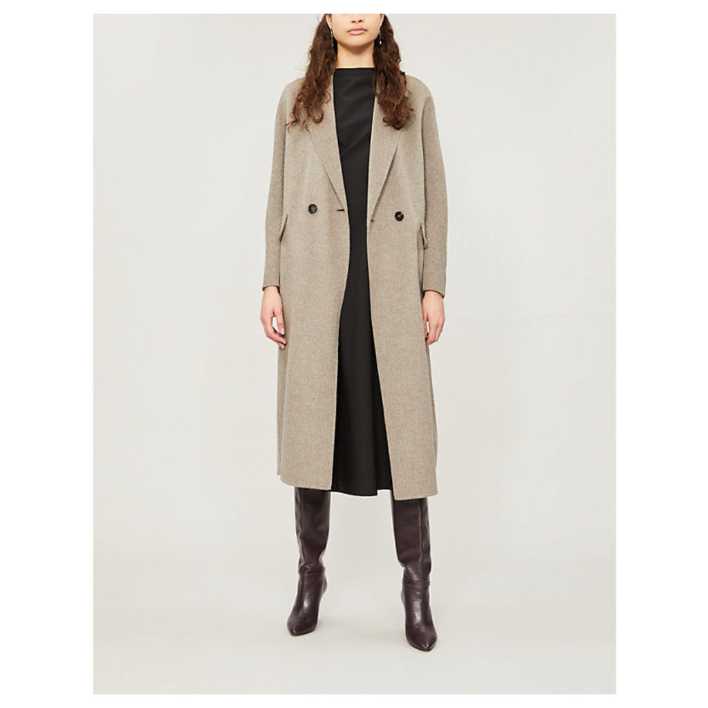 Cardi double-breasted wool coat
