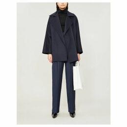 Matera cashmere wrap coat