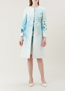 Sunny Dress Navy Ivory 18