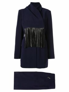 Hermès Pre-Owned setup suit jacket skirt - Black