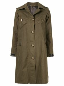 GUCCI PRE-OWNED long sleeve coat - Green