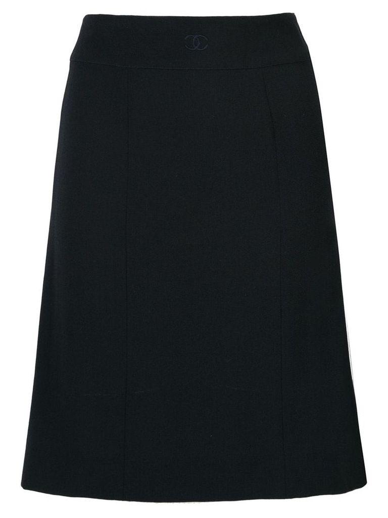 Chanel Vintage CC skirt - Blue