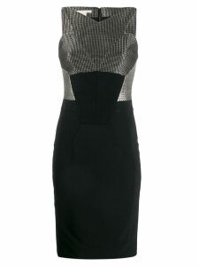 A.N.G.E.L.O. Vintage Cult 2000s silver-tone dress - Black