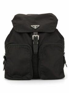 Prada Pre-Owned classic backpack - Black