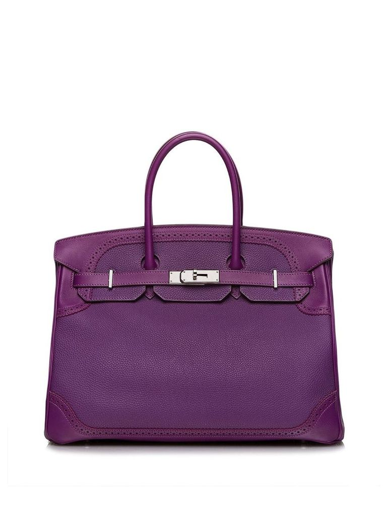 Hermès Vintage Gillies Birkin 35 bag - Purple