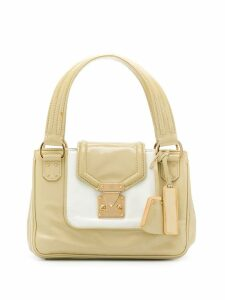 Louis Vuitton Pre-Owned 2003's panelled handbag - Neutrals